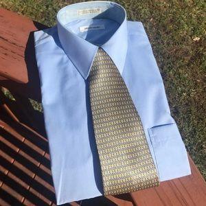 NEW Pierre Cardin dress shirt + tie gift set